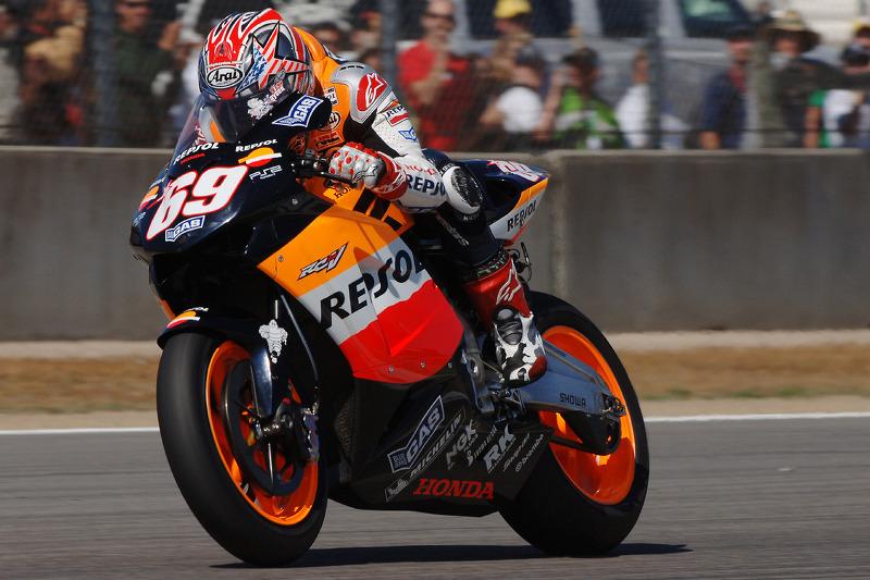 2005: Repsol Honda, 3º no campeonato (206 pts), 1 vitória, 6 pódios, 17 corridas