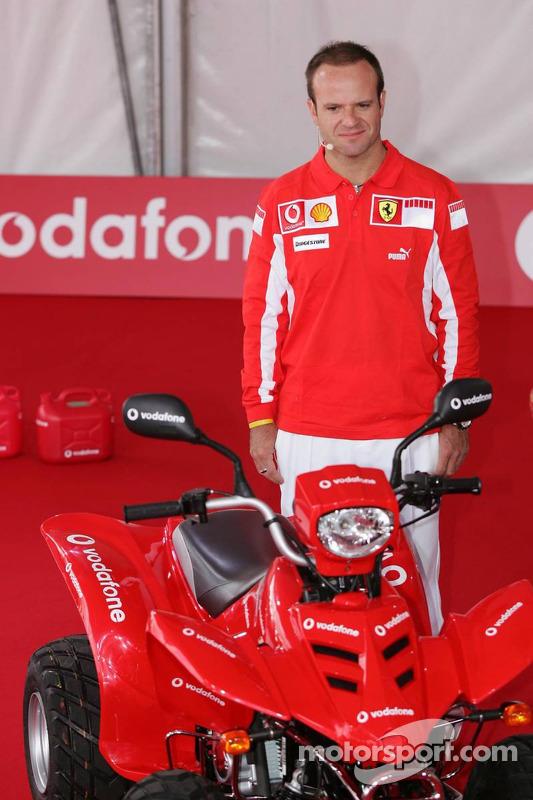 Evento de Vodafone en Hockenheim Talhaus: Rubens Barrichello