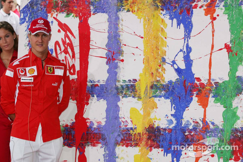Evento de Vodafone en Hockenheim Talhaus: Michael Schumacher y su obra
