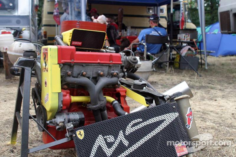 Un motor de Ferrari