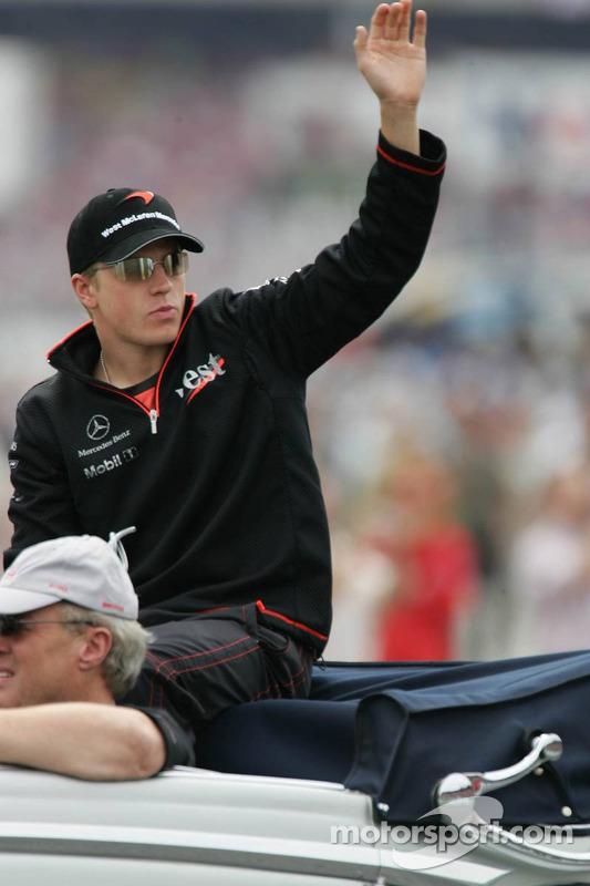 Presentación de pilotos: Kimi Raikkonen