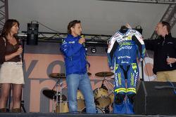 Marco Melandri at a public appearance
