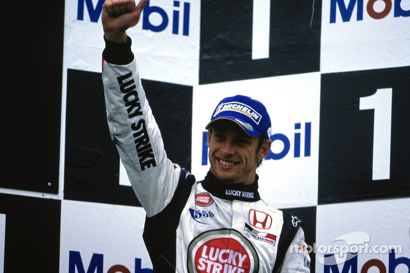 Podio: Jenson Button