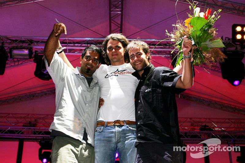 Red Bull Petit Prix en Manheim: celebraciones del podio