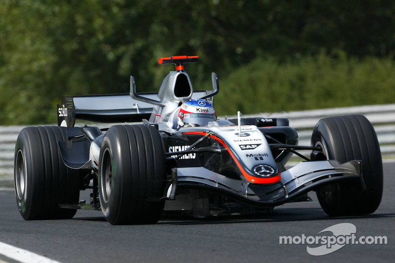 #20: McLaren MP4/20 (2005)