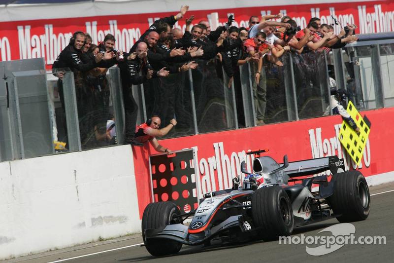 2005: Гран При Венгрии, McLaren MP4-20. Стартовал 4-м
