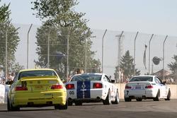 #7 Power Racing Team BMW M3: Mike Keravich III, Owen Trinkler, #05 Multimatic Motorsports Mustang GT: Scott Maxwell, David Empringham, #09 Automatic Racing BMW M3: Jep Thornton, David Russell