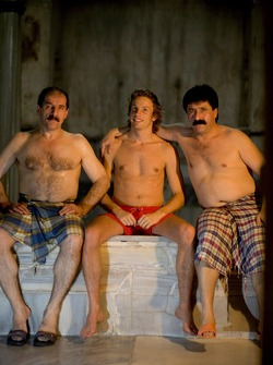 Visit of a Turkish baths