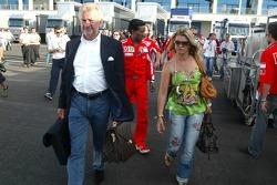Willi Weber and Corina Schumacher