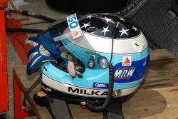 Helmet of Milka Duno