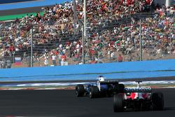 Jacques Villeneuve et Ralf Schumacher