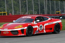 #11 JMB Racing USA Ferrari 360 Challenge: Matt Plumb, Ray Langston III