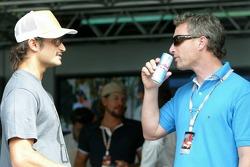Vitantonio Liuzzi and Eddie Irvine