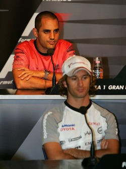 FIA Thursday press conference: Jarno Trulli and Juan Pablo Montoya