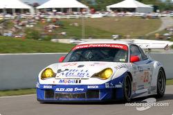 #23 Alex Job Racing Porsche 911 GT3 RSR: Timo Bernhard , Romain Dumas