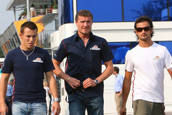 Christian Klien, David Coulthard and Vitantonio Liuzzi