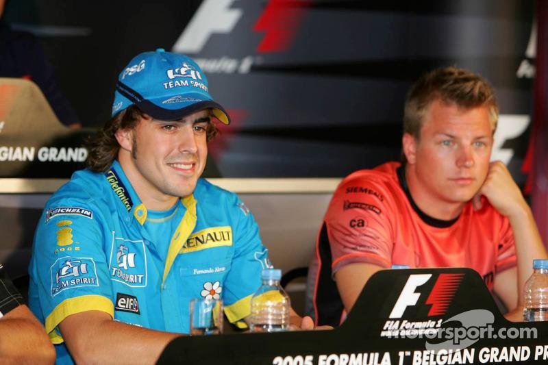 Conferencia de prensa FIA: Fernando Alonso y Kimi Raikkonen