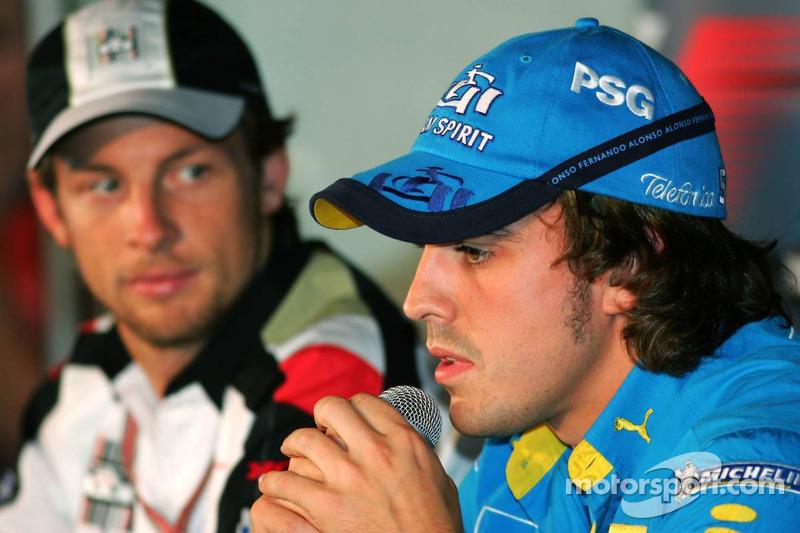 Conferencia de prensa FIA: Jenson Button y Fernando Alonso