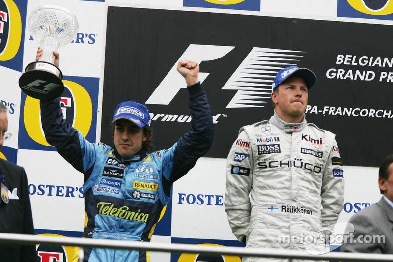 Grand Prix von Belgien 2005 in Spa: Sieger
