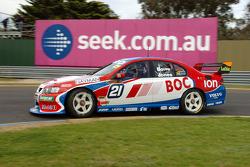 Brad Jones at the wheel of the BOC Ford