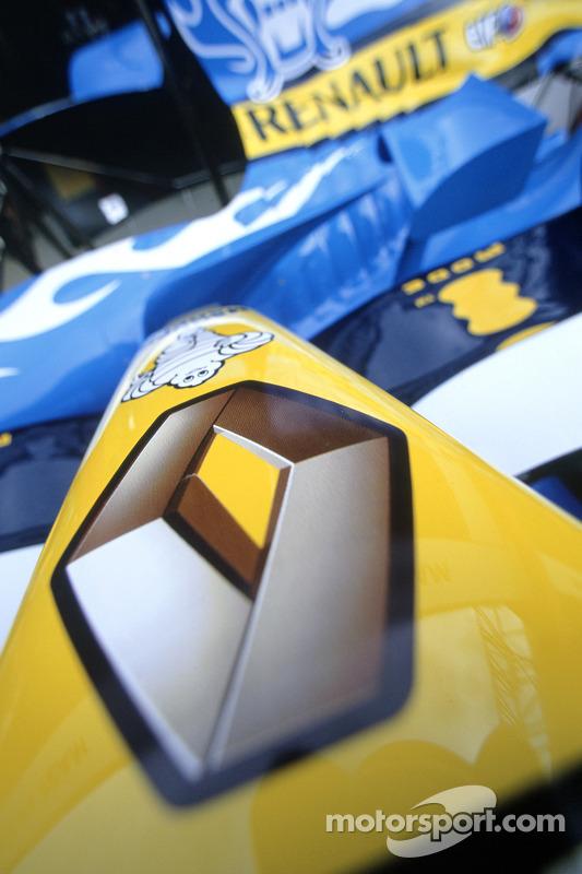 Detalle de el Renault F1