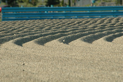 The gravel trap at the inner loop