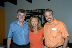 IMS Historian Donald Davidson with Chuck and Pam Homier