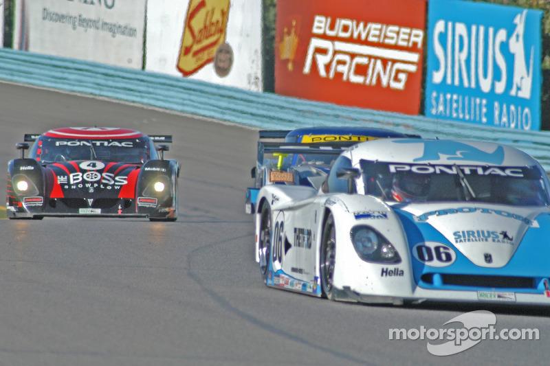 #06 Howard - Boss Motorsports Pontiac Crawford: Chris Dyson, Harrison Brix, Rob Dyson, #4 Howard - Boss Motorsports Pontiac Crawford: Butch Leitzinger, Elliott Forbes-Robinson