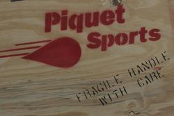 HiTech Piquet Racing crate