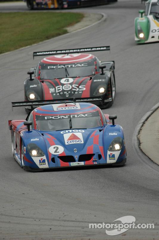 La CITGO - Howard - Boss Motorsports Pontiac Crawford N°2 (Andy Wallace, Milka Duno) et la Pontiac C