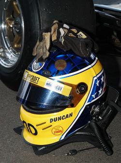 Helmet of Duncan Dayton