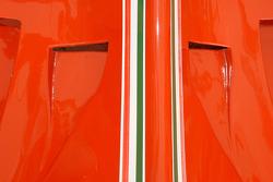 Engine cover of the 1980 Ferrari 312 T5
