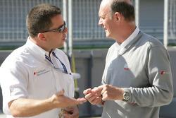 Albert Deuring and Dr. Wolfgang Ullrich