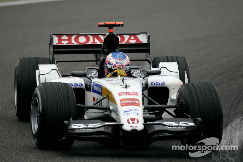 2005 - BAR 007 (moteur Honda)