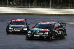 Laurent Aiello and Mika Hakkinen