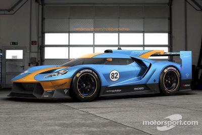 Fictional Ford GT Le Mans liveries
