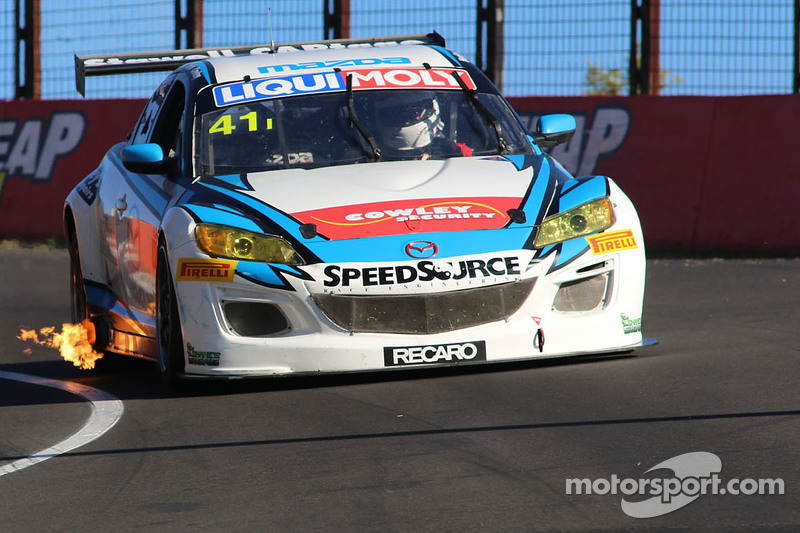 #41 Mazda RX8 GT: Bruce Henley, Mark King, Jason Walsh, Ian Cowley