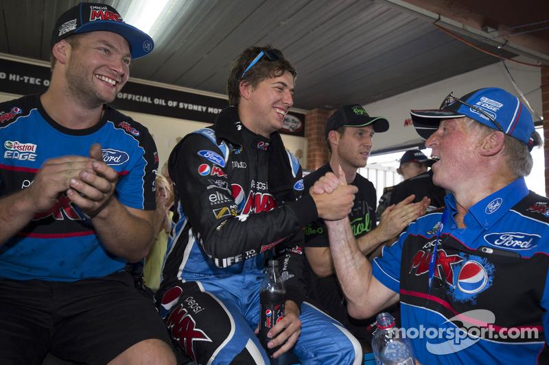 Chaz Mostert, Prodrive Racing Australia, Ford, mit der Bestzeit im Test