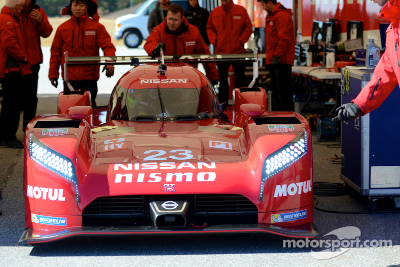 Olivier Pla,测试尼桑GT-R LM NISMO