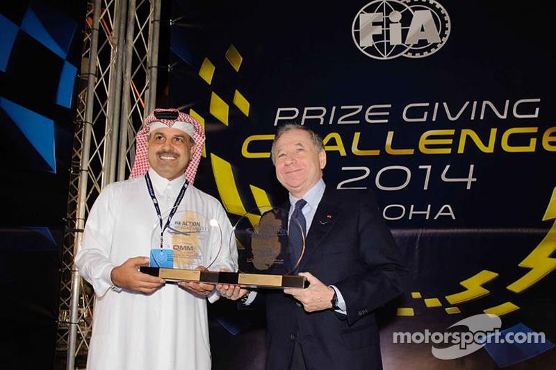 Nasser bin Khalifa al-Attiyah e Jean Todt