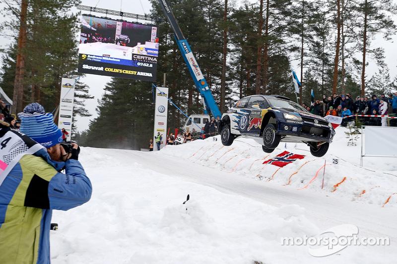 Andreas Mikkelsen和Olan Floene, 大众Polo R Wrc, 大众车队