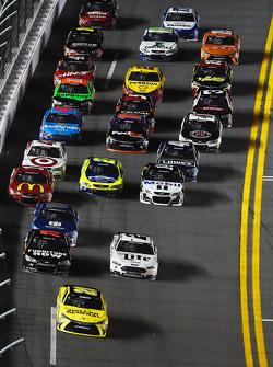 Matt Kenseth, Joe Gibbs Racing Toyota leads