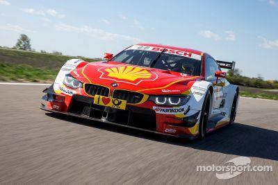 BMW reveals new livery for DTM car