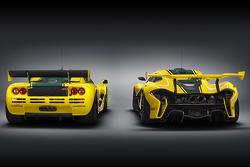 McLaren F1 GTR e McLaren P1 GTR