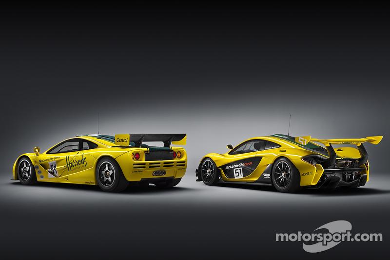 McLaren F1 GTR ve McLaren P1 GTR