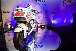 ال سي آر هوندا تكشف النقاب عن دراجة موتو جي بي 2015