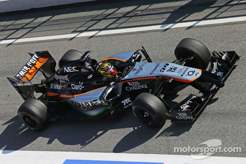 Pascal Wehrlein, Sahara Force India F1 VJM08