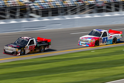 Travis Kvapil, Premium Motorsports Chevrolet, Ray Black Jr., SS-Green Light Racing Chevrolet