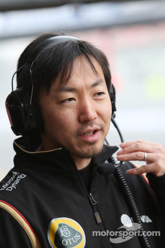 Ayao Komatsu, Engenheiro de Corrida da equipe Lotus F1