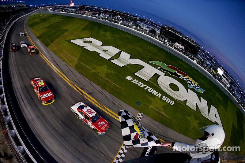 Ryan Reed, Roush Fenway Racing Ford takes the win